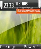 Vista S60 theme screenshot