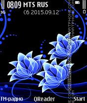 Neon-Blue es el tema de pantalla