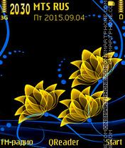 Neon-Gold es el tema de pantalla