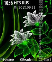 Neon-Green es el tema de pantalla