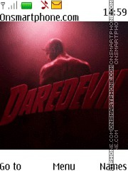 Daredevil theme screenshot