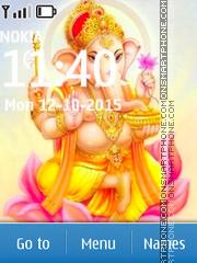 Lord Ganesha 10 es el tema de pantalla