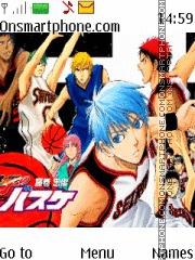 Kuroko no Basket es el tema de pantalla
