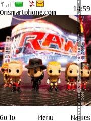 WWE es el tema de pantalla