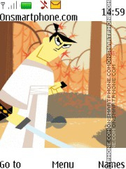 Samurai Jack tema screenshot
