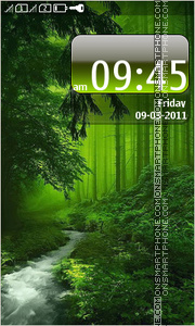 Forest 08 theme screenshot
