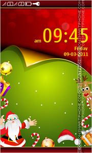 Christmas Day 03 theme screenshot