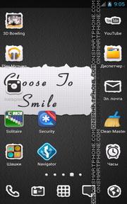 Smile Quote es el tema de pantalla