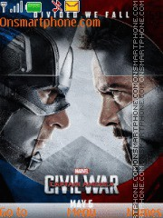 Captain America Civil War es el tema de pantalla