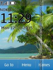 Beach 42 es el tema de pantalla