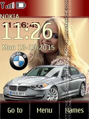 BMW with Blonde Girl es el tema de pantalla