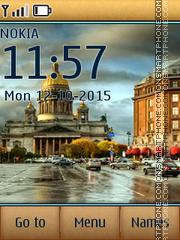 Rainy Saint Petersburg es el tema de pantalla