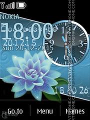 Blue lotos es el tema de pantalla