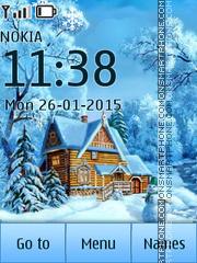 Winter house 02 es el tema de pantalla