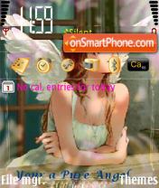 N73 Dreaming Angel es el tema de pantalla