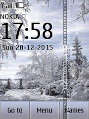Winter Time 05 es el tema de pantalla