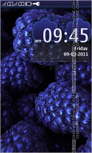 Blackberry 06 theme screenshot