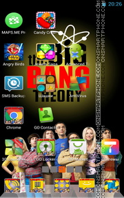 Big Bang Theory theme screenshot