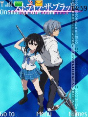 Strike the Blood theme screenshot