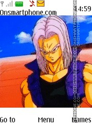 Dragon Ball Z Trunks es el tema de pantalla