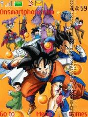 Dragon Ball Super tema screenshot