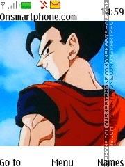 Dragon Ball Z Gohan es el tema de pantalla