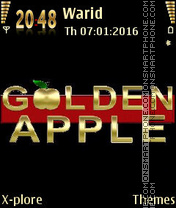Golden apple2 es el tema de pantalla