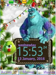 MONSTERS, INC theme screenshot