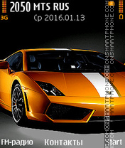 Lamborghini Theme-Screenshot