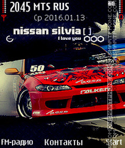 Nissan-Silvia Theme-Screenshot