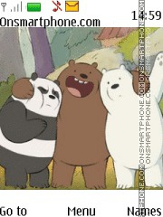 We Bare Bears tema screenshot