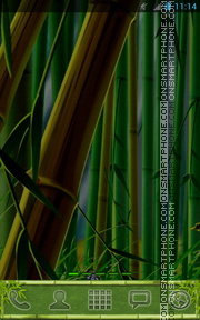 Bamboo Forest 02 theme screenshot