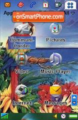 Feathers es el tema de pantalla
