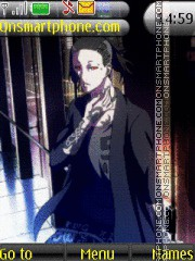 Tokyo Ghoul Uta theme screenshot