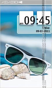 Beach Nokia theme tema screenshot