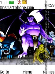 Gargoyles theme screenshot