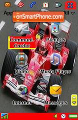 Ferrari F1 es el tema de pantalla