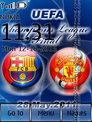 UEFA Champions League 03 es el tema de pantalla
