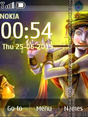 Lord Krishna 10 tema screenshot