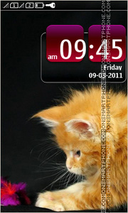 Kitten 18 tema screenshot