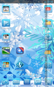 Ice 03 tema screenshot
