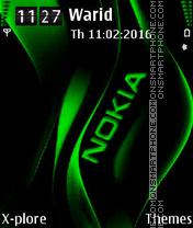 Green Nokia es el tema de pantalla