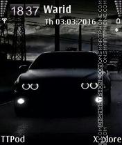 BMW Black es el tema de pantalla