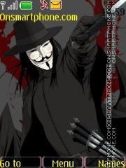 V for Vendetta es el tema de pantalla
