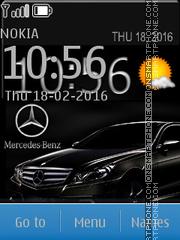 Black Mercedes 03 es el tema de pantalla
