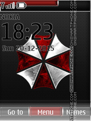 Umbrella Sign tema screenshot