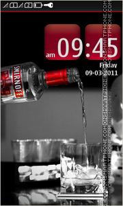 Smirnoff Vodka es el tema de pantalla