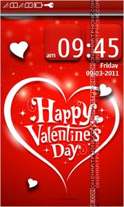 Happy Valentines Day 18 es el tema de pantalla