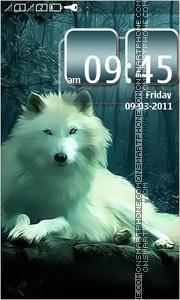 White Wolf 02 es el tema de pantalla