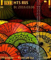 Umbrellas Theme-Screenshot
